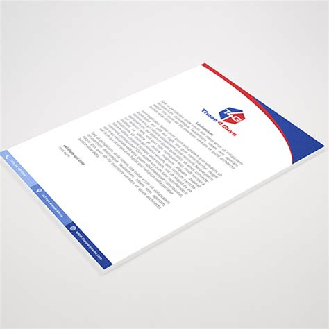 school letterhead design