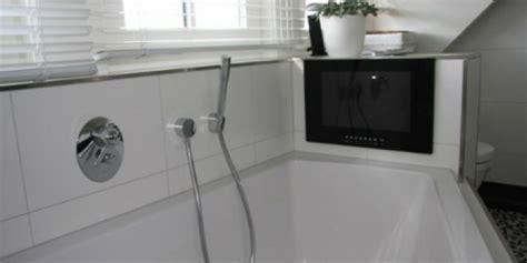 Fernseher Für Das Badezimmer  Neuesbad Magazin