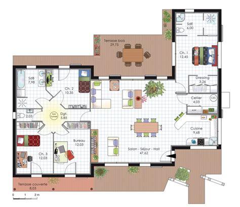 plan de maison 2 chambres plan maison 3d 2 chambres plans maisons