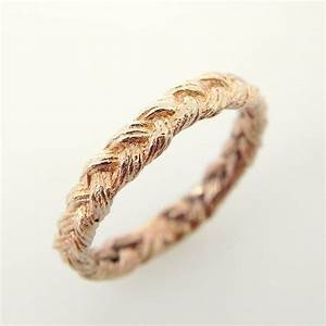 unavailable listing on etsy With braided wedding ring