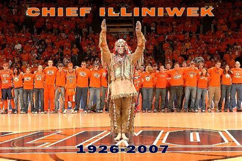 chief illiniwek  illini basketball fighting