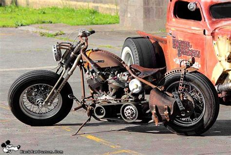 Motorcycle, Bobber Motorcycle