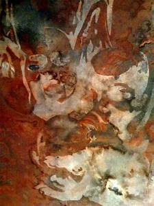 Fairuza Balk  U2013 Rust Painting
