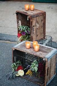 wooden, crate, decor