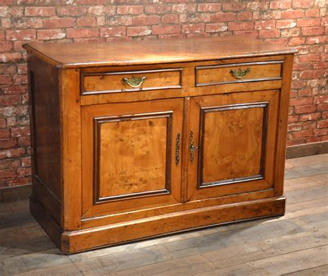 Antique Sideboard Continental Elm Buffet Country Cupboard