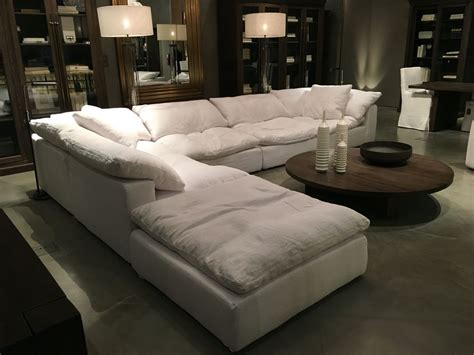 most comfortable sectional couches restoration hardware sectional quot cloud quot future