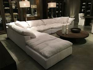 restoration hardware sectional quotcloudquot couch future With comfortable sofa bed sectional