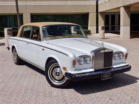 1980 Rollsroyce Silver Wraith Ii For Sale #1925889