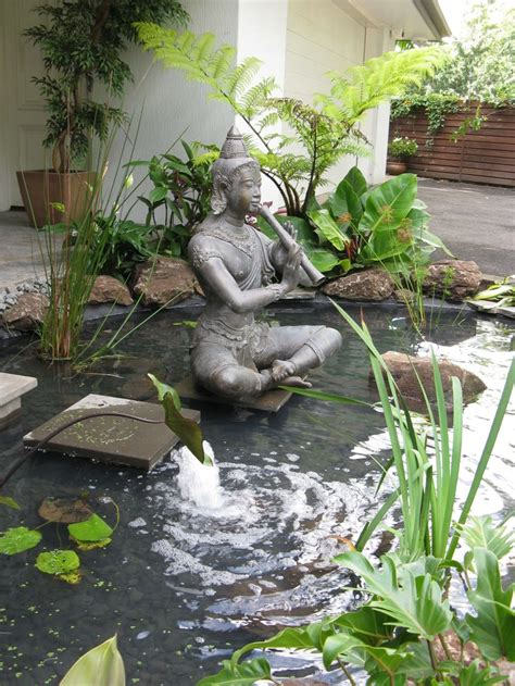 bali inspired water feature water features pinterest