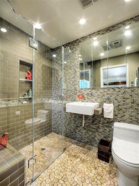 Bathroom Design by Bathroom Design Trend No Threshold Showers Hgtv
