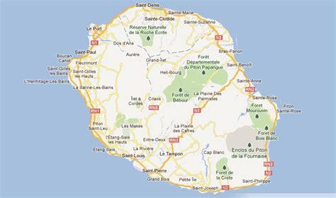 La Réunion Carte Géographique Monde by Ile De La Reunion Carte Situation Geographique My