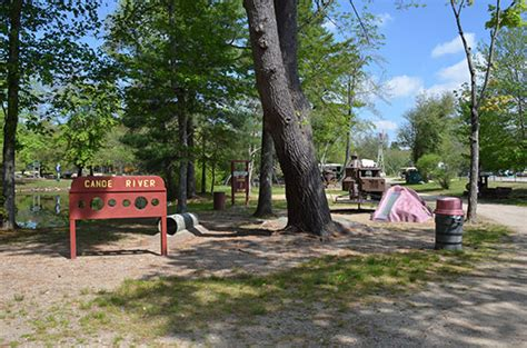 Canoe River Campground Playground - Mansfield, MA