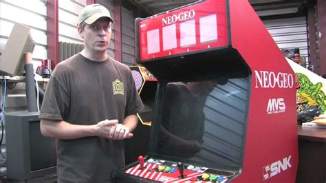 Neo Geo Mvs Cabinet by Classic Game Room We Bought A Neo Geo Mvs 4 Slot Arcade
