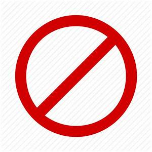 Ban, block, cancel, delete, stop icon | Icon search engine