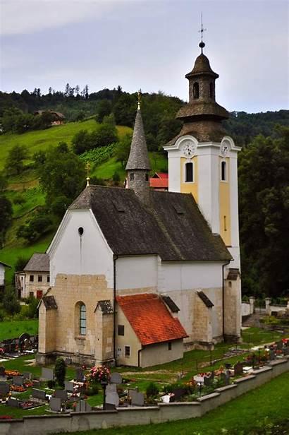 Churches Slovenian Chapels Church Shingle