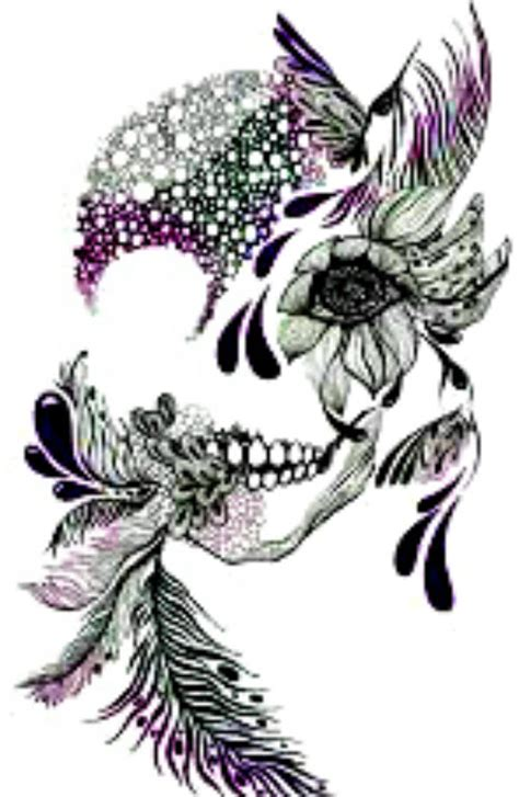 sugar skull woman nail design nail manicure tip sticker decal decoration ebay