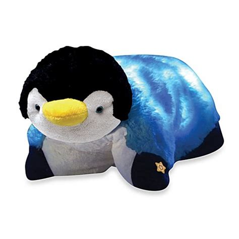 penguin pillow pet buy pillow pets 174 glow pets penguin from bed bath beyond