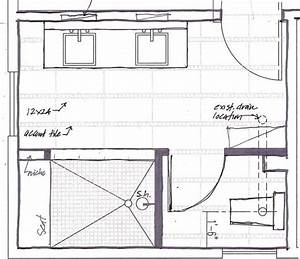 The master bathroom floor plans with walk in shower above for Master bathroom plans with walk in shower