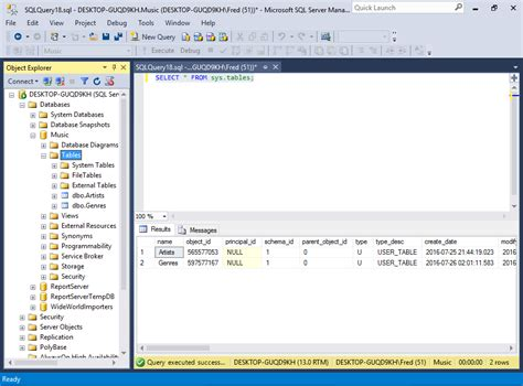 sql query to create table sql server 2016 create a table from an sql script