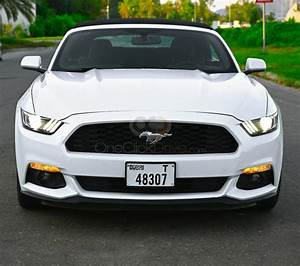 Rent Ford Mustang V6 Convertible 2018 car in Dubai: Day, week, monthly rental