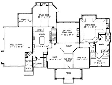 master suites floor plans two master suites 15844ge architectural designs