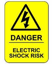 Electrical Shock Hazard Symbol
