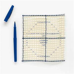 Canevas Pour Tapis : toile canevas smyrne interlock pour tapis et ouvrages au point nou x10cm perles co ~ Farleysfitness.com Idées de Décoration