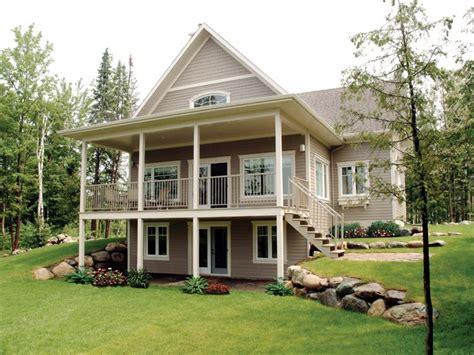 walkout ranch home plans Google Search Mountain house
