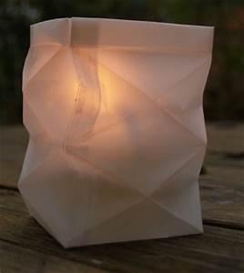 Windlicht Falten Transparentpapier : knickwindlicht aus transparentpapier bastelfrau ~ Lizthompson.info Haus und Dekorationen