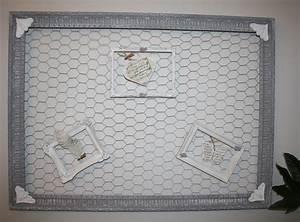 Grand Pele Mele Photo : grand cadre ancien pele mele avec grillage a poule d corations murales par p le m le ~ Teatrodelosmanantiales.com Idées de Décoration
