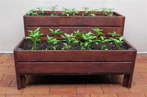 patio wooden planter boxes 187 home decorations insight