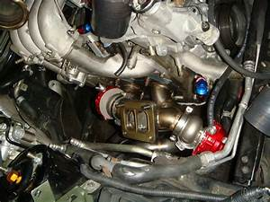 Dual Wastegate Vacuum Line Routing   Stainless Braided