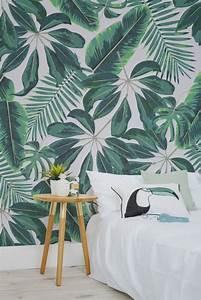 Comment Enlever Le Papier Peint : le papier peint tropical pour d corer votre int rieur ~ Dailycaller-alerts.com Idées de Décoration