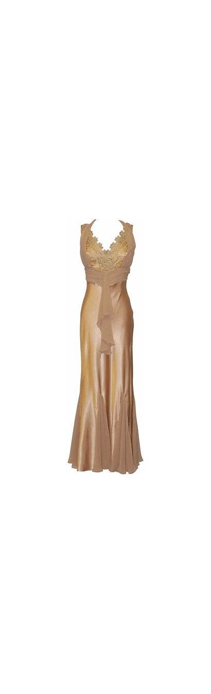 Gold Dresses Bridesmaid Satin Nightgown Gown Nightgowns