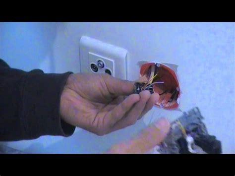 brancher prise rj45 murale comment faire le branchement d une prise rj45 vid 233 o 3