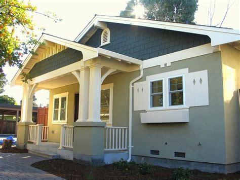 bungalow exterior paint color schemes bungalow exterior
