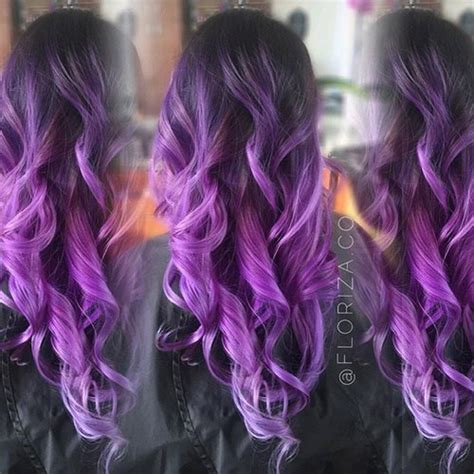 hair color dark to light purple ombre hair ideas plum lilac lavender and violet
