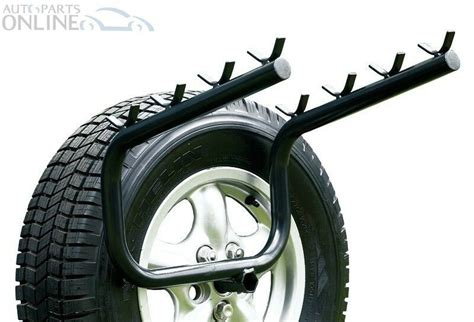 land rover discovery  bike rack spare wheel mounted