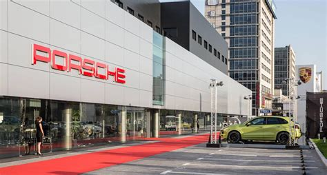 Porsche Centers In Greater China