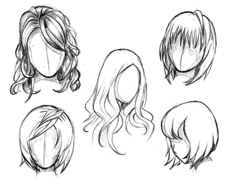complex waysinspiration  draw hair art anime