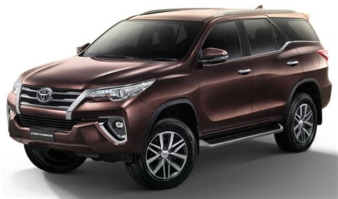 toyota 4wd models toyota fortuner updated in thailand new 2 4v 4wd model