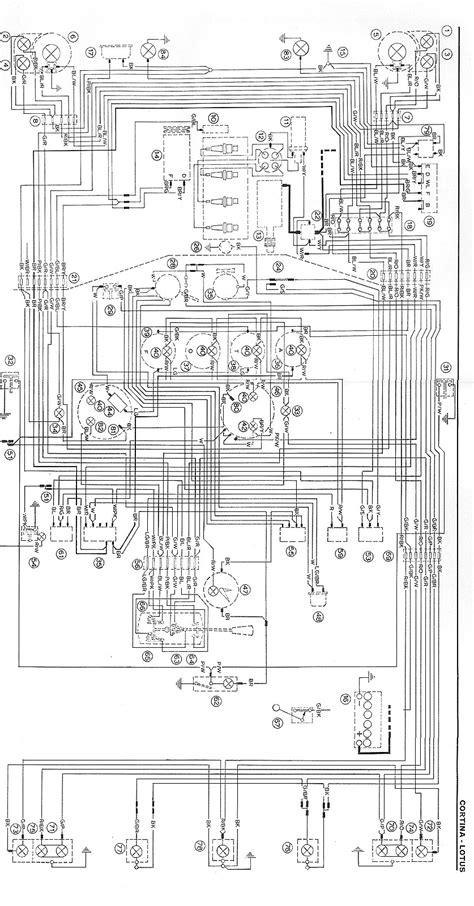Ford Granada Mk2 Wiring Diagram by Ford Cortina Mk1 Wiring Diagram