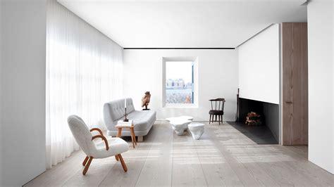 jill diensts scandinavian inspired  york city home