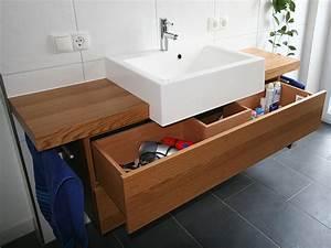 Waschtisch Für Aufsatzwaschbecken Aus Holz : waschtisch holz mit aufsatzwaschbecken ~ Sanjose-hotels-ca.com Haus und Dekorationen