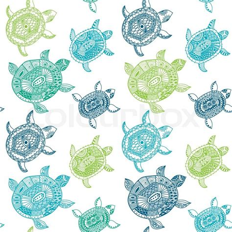 Animal Wallpaper Pattern - seamless pattern with turtles seamless pattern can be