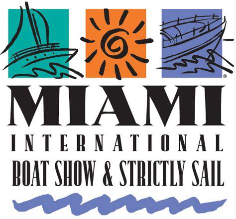 Boat Show Logo by Miami Boat Show 2015 Yachta