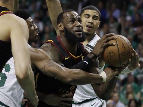 LeBron James tired? Celtics beat Cavs 96-83, lead NBA East ...