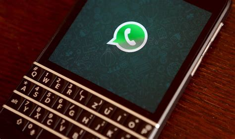 whatsapp is about to drop support for all blackberry users tech style express co uk