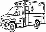 Ambulance Coloring Pages Emergency Printable Vehicle Sheet Colouring Drawing Hospital Outline Ems Children Getdrawings Porsche Facility Angel Medical Care Outstanding sketch template