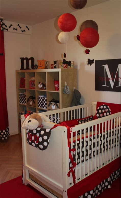 puppy theme baby nursery design dazzle